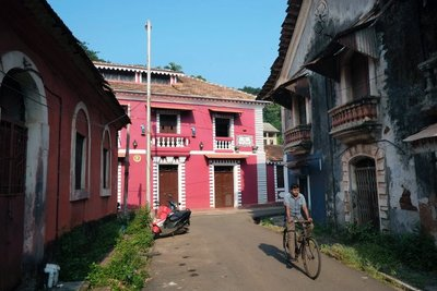 Panjim, Fontainas neighborhood, Goa