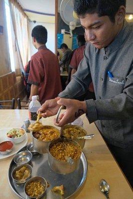 Delicious, Gujarati Thali