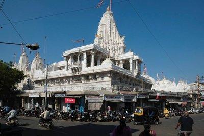 Shantinath (Jain) temple, Jamnagar