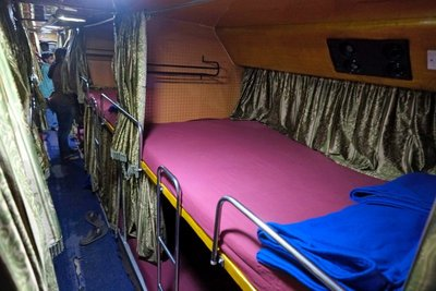 Sleeper bus