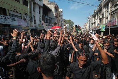 Crowd, Muharram, Hyderabad