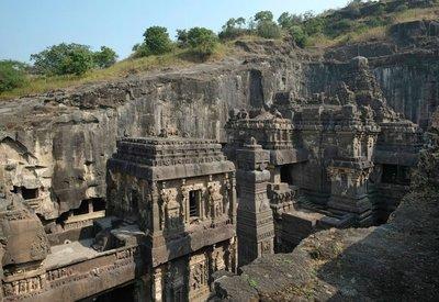 Ellora, Kailasa cave temple