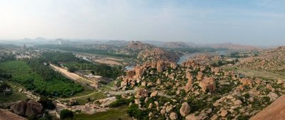 View from Mathanga Hill, Hampi