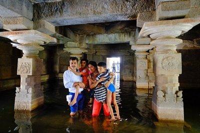 Shiva underground temple, Hampi