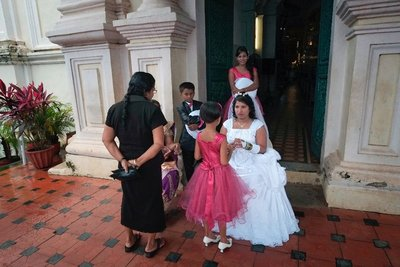 Bride in Margao, Goa