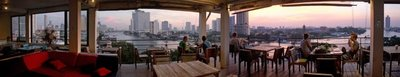 River View Guest House with panoramic view, Bangkok, Thailand