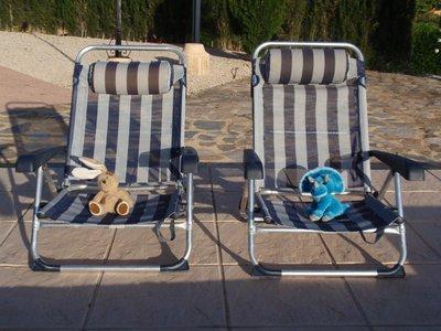 Enjoying the sun at La Nucia