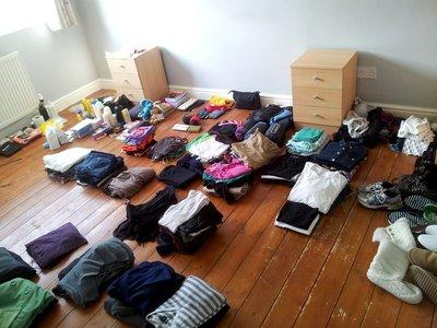 Our Bedroom Floor