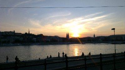 Budapest: Danube Sunset