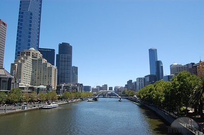 Yarra River. It's kinda polluted and smelly but hey, so is lake ontario...