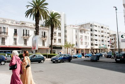 Downtown Rabat, Morocco