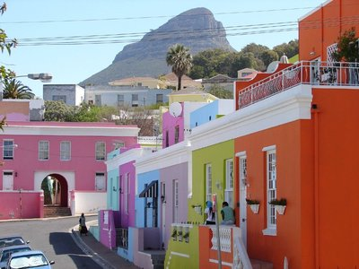 Bi-Kaap Neighbourhood, South Africa