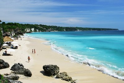 Dreamland Beach, Indonesia