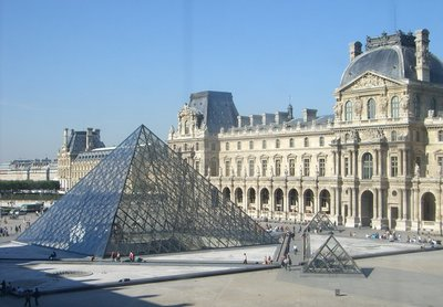 The Louvre Museum and Pyramid