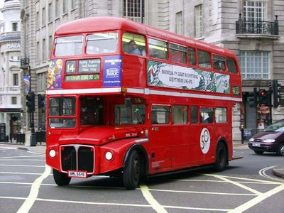 Red Double Decker Tour Bus
