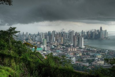 The View From Ancon Hill