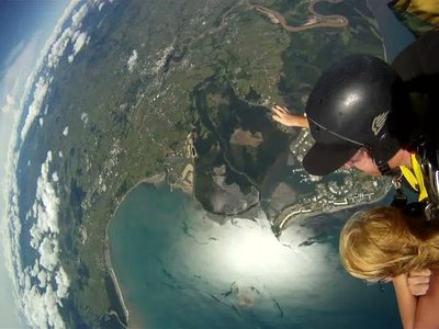 Sky Diving View