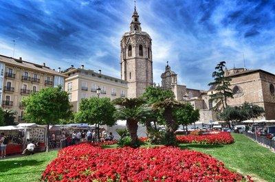 Plaza de la Reina.