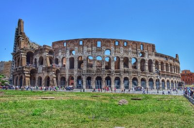 Colosseum. HDR.