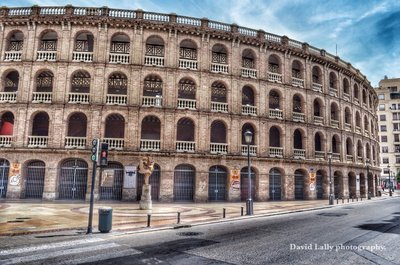 Bullfighting stadium.