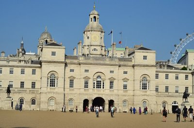 Horse guards building.