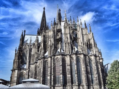 Cologne cathedral (rear).