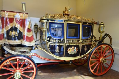 Royal carriage.