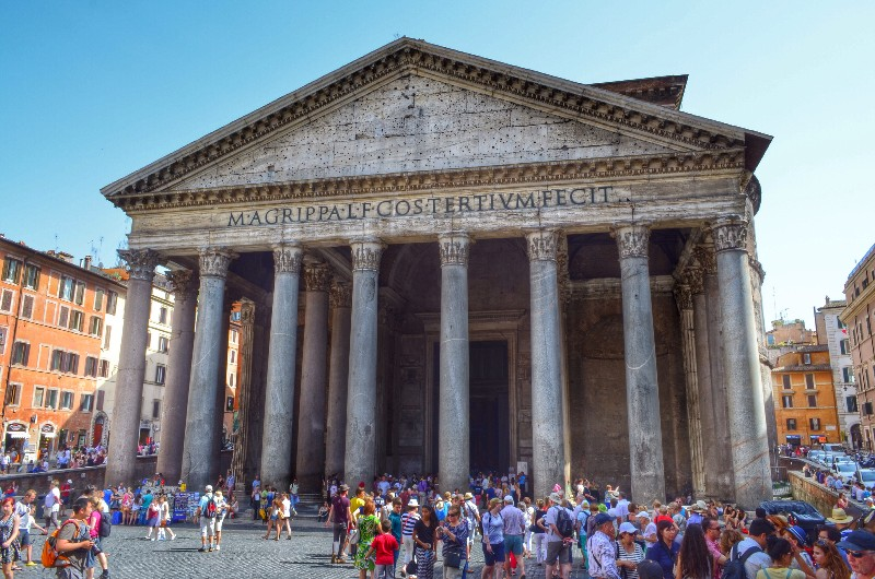 Pantheon. HDR.