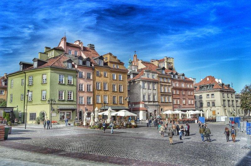 Castle square.