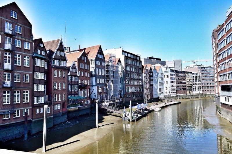 Old Hamburg district.
