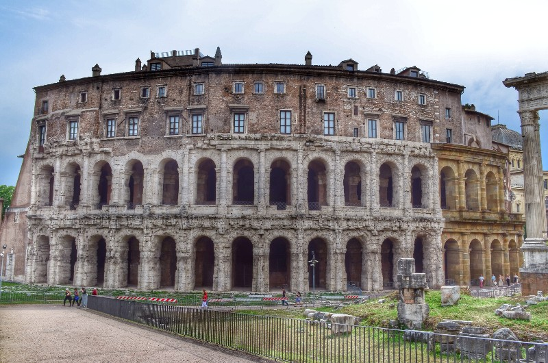 Theatre of Marcellus. HDR.