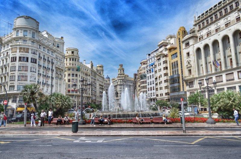 City centre.