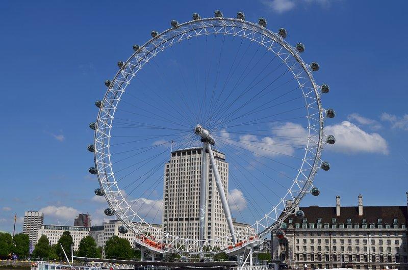 Millenium wheel.