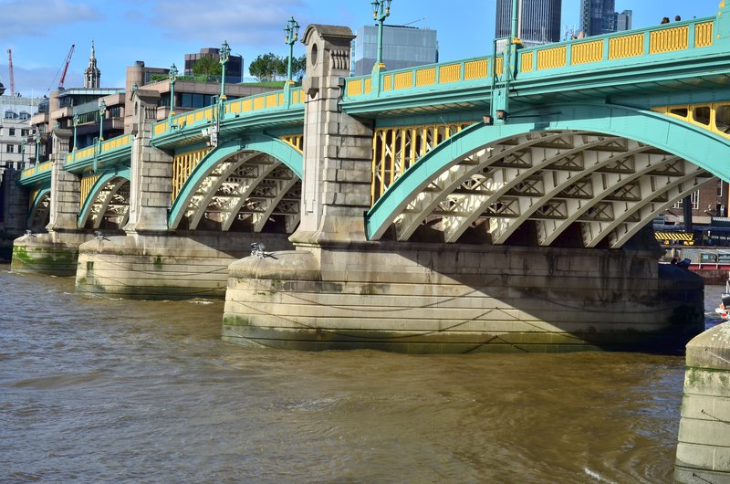 Southwark bridge.