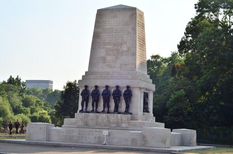 Guards memorial.
