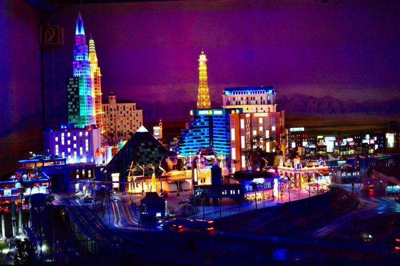 Miniature world. Las Vegas.