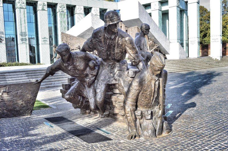 Warsaw uprising monument 2.