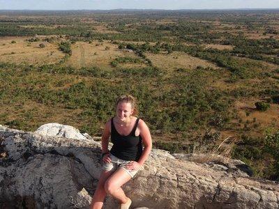 View in Kefflamasse, Zambia
