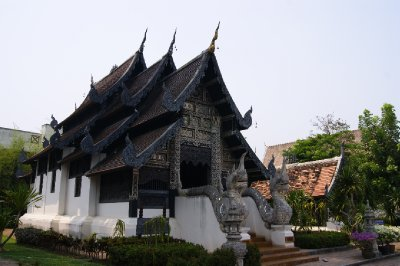 Black Roofed Temple