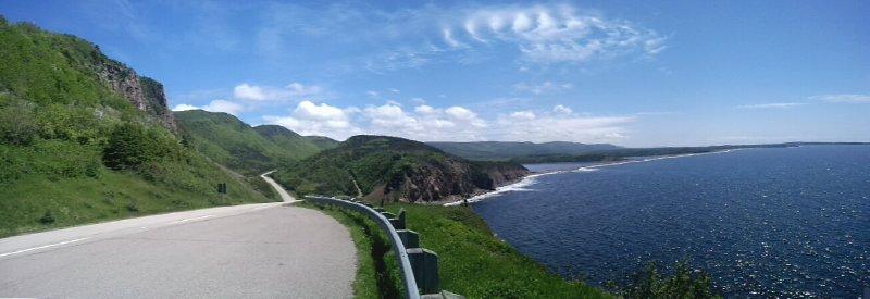 Cape Breton coastal drive