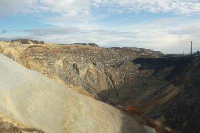 Bor open-pit mine