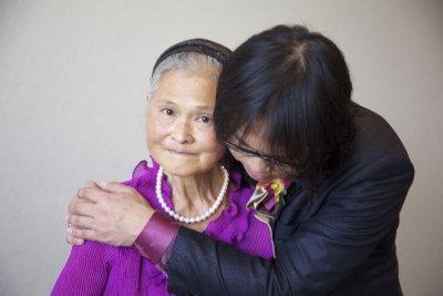 Ed & Mum Hug #3