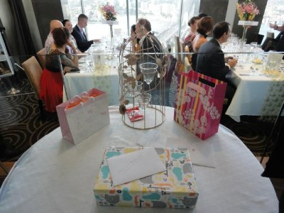 Reception Gift Table