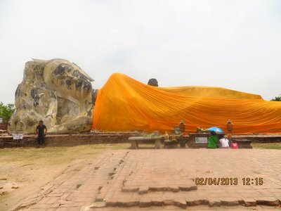 Larger Reclining Buddha