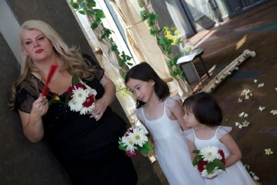Lisa & Flower Girls #2
