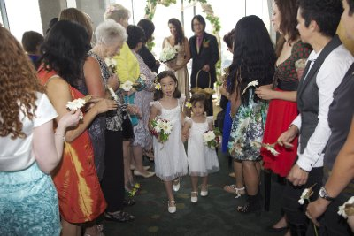 Flowergirls (Post-Ceremony)