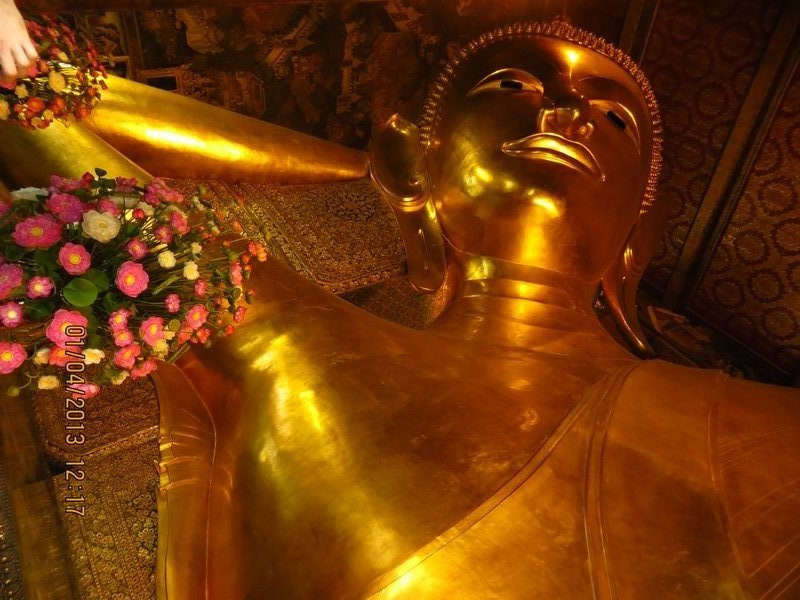 Reclining Buddha Head