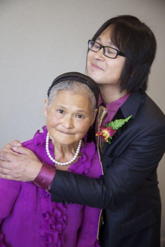 Ed & Mum Hug #2