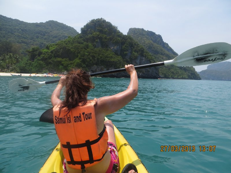 Sue Kayaking