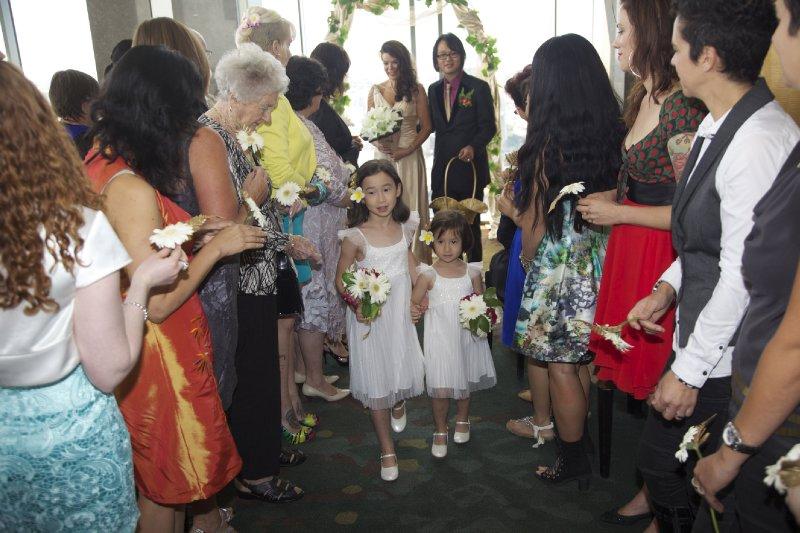 Flowergirls (Post-Ceremony)